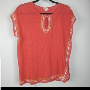 J. Jill Embroidered Top